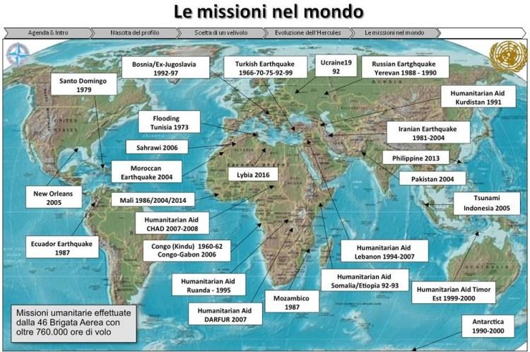 missioni umanitarie nel mondo 46^ Brigata Aerea