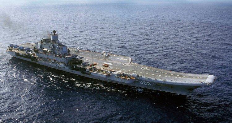 portaerei russa Admiral Kuznetsov