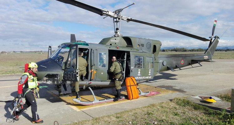 elicottero SAR HH-212 Aeronautica Militare