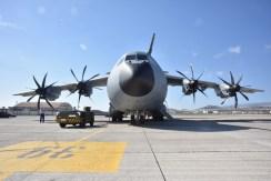 Primer Airbus A-400 en Gando_29