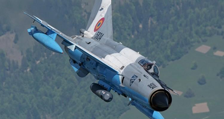 Romanian Air Force Mig-21 Lancer