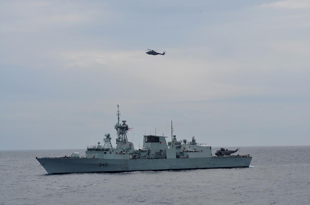 formazione navale NATO