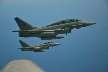 Rifornimento in volo 14° Stormo aeronautica Militare