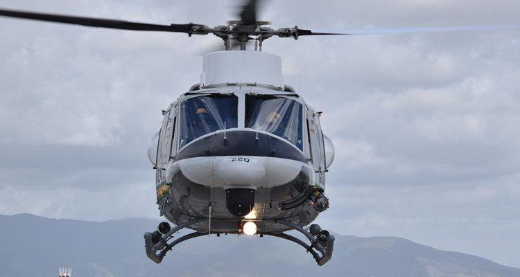 elicottero HH-412 Guardia di Finanza