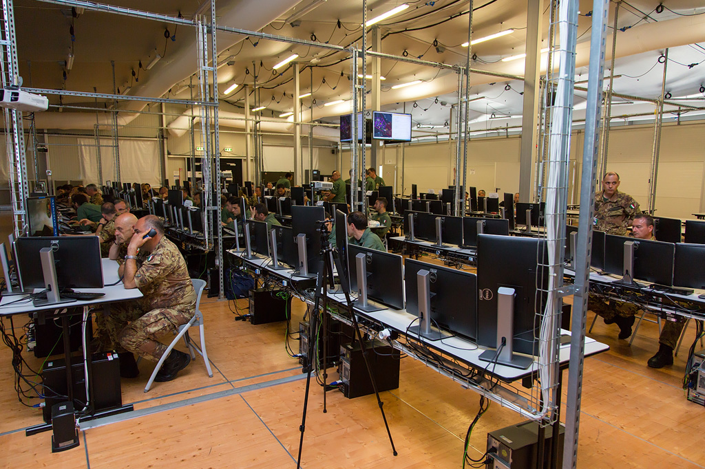 sala operativa esercitazione virtual flag 2017