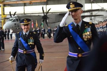 cambio di comando alla 46^ Brigata Aerea
