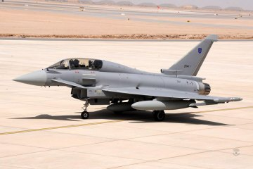 Oman first Typhoon delivery