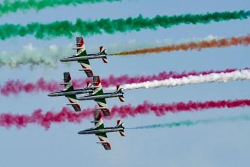Frecce Tricolori al Lignano Air Show 2017