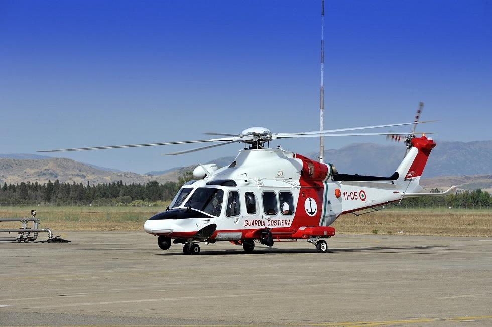 elicottero AW-139CP Guardia Costiera