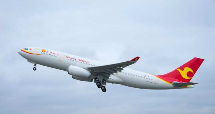 Airbus A330 Tianjin Airlines