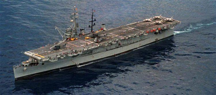 USS Cabot portaelicotteri Dédalo