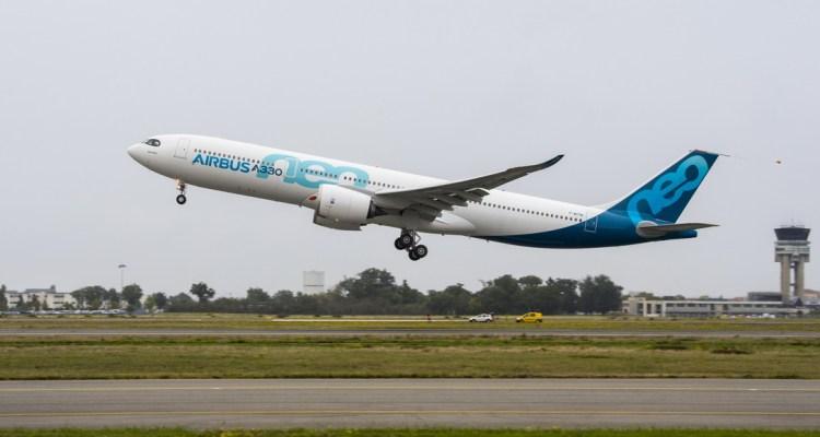 Airbus A330neo primo volo