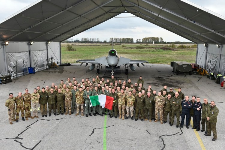 eurofighter typhoon italiani in bulgaria