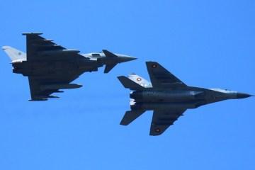 eurofighter typhoon italiani in bulgaria