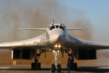 Tupolev Tu-160M2 russian air force