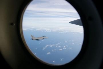 rifornimento in volo KC-130J Hercules Aeronautica Militare