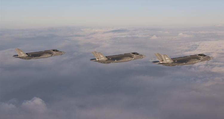 primi F-35A della Royal Norwegian Air Force arrivano in Norvegia
