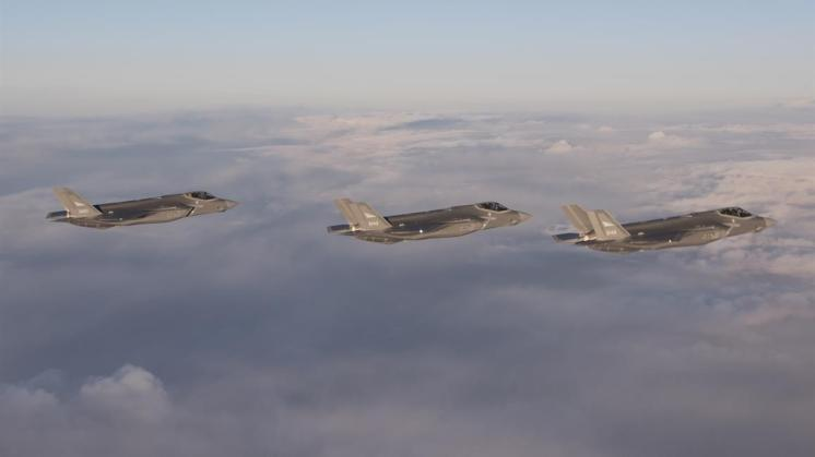 primi F-35A della Royal Norwegian Air Force arrivano in Norvegia