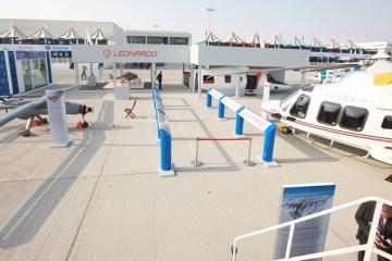 Leonardo Finmeccanica al Dubai Air Show 2017