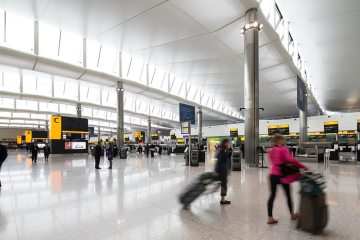 aeroporto londra heathrow terminal 2