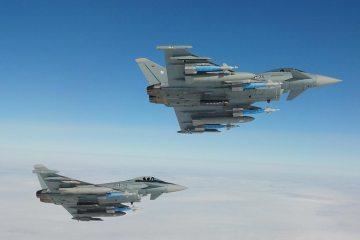 Eurofighter Typhoon della Luftwaffe tedesca