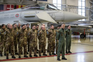 Eurofighter italiani alla Baltic Air Policing