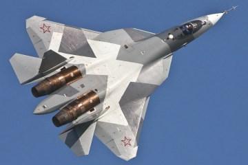 Sukhoi Su-57 Pak FA T-50