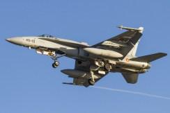 EF-18 Hornet aeronautica militare spagnola