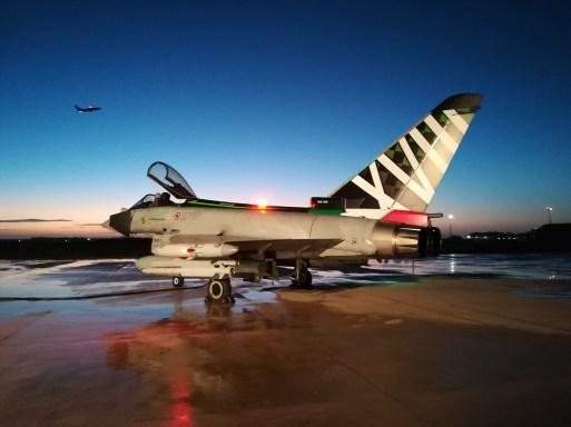 Eurofighter Typhoon special color Aeronautica Militare