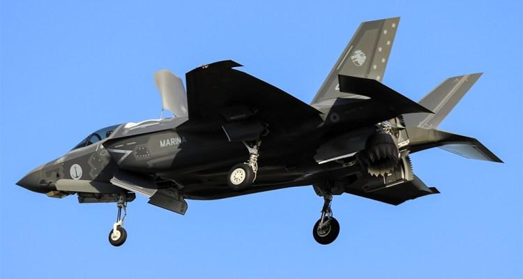 Primo F-35B della Marina Militare Italiana