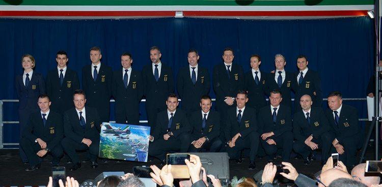 formazione piloti frecce tricolori 2018