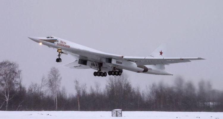 bombardiere strategico russo Tupolev Tu-160