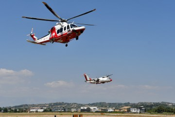 aerei ed elicotteri della Guardia Costiera