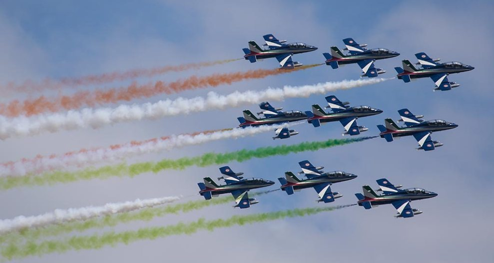 Calendario Frecce Tricolori 2020.Esibizioni Pan Frecce Tricolori 2019 Aviation Report