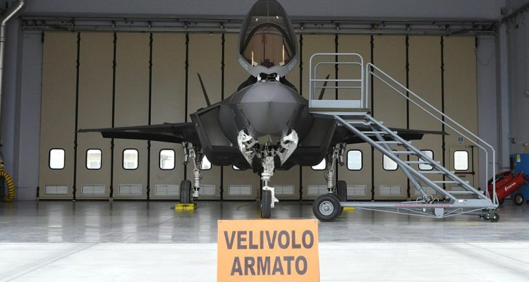 F-35 italiani 32° Stormo Aeronautica Militare