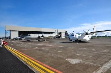 Sigonella visita CA Maffeis, piazzale velivoli (3)
