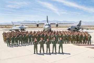 blazing shield 2018 aeronautica militare