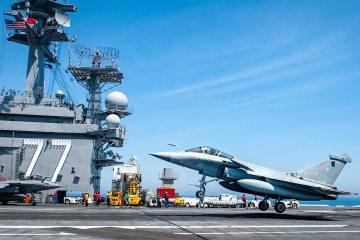 Le Marine militari di Stati Uniti e Francia nell'esercitazione Chesapeake 2018