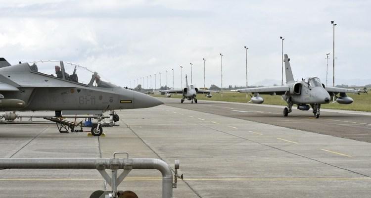 esercitazione vega 2018 aeronautica militare