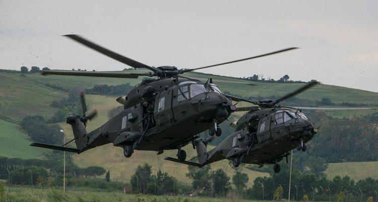 esercitazione CAEX 2018 Aviazione dell'Esercito