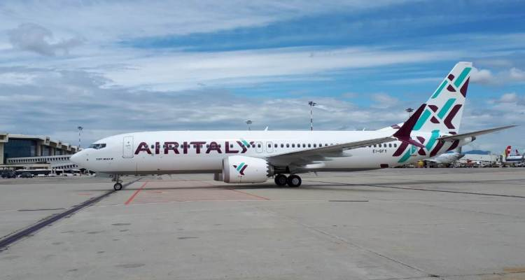 Boeing 737 Max Air Italy