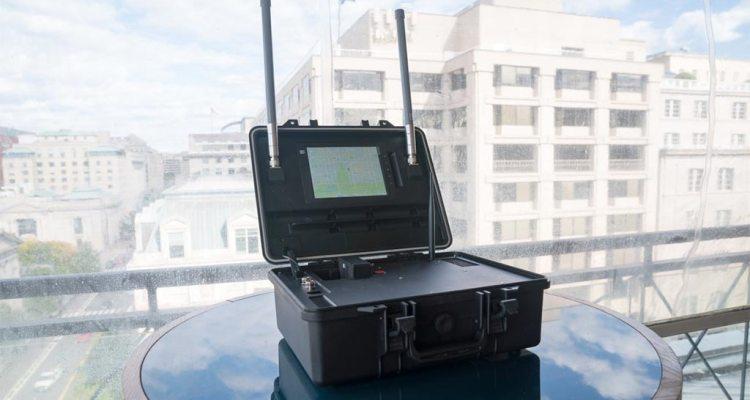 DJI aeroscope tracciamento droni