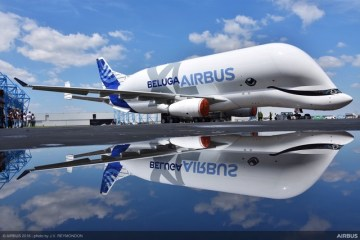Airbus BelugaXL livrea speciale roll-out