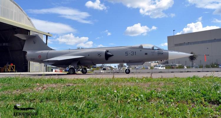 restauro F-104S ASA Sigonella