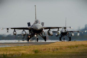 F-16 americnani di Aviano 510 FS
