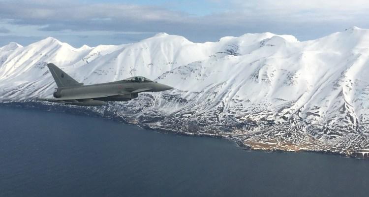 L'Aeronautica Militare a difesa dello spazio aereo dell'Islanda