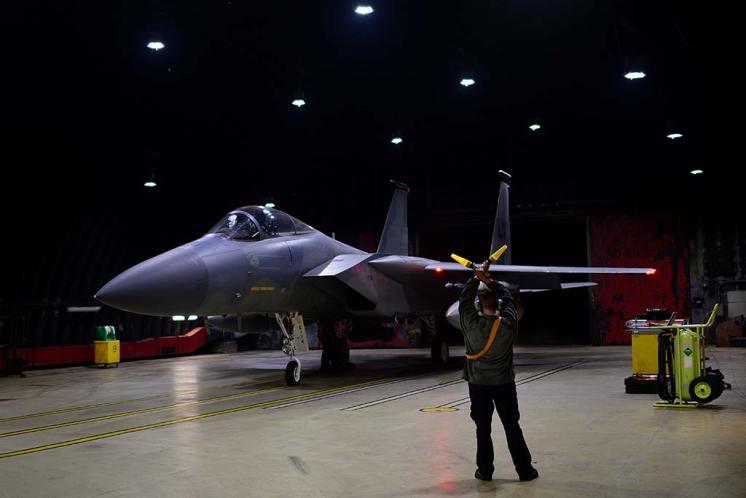 US Air Force F-15C Eagle
