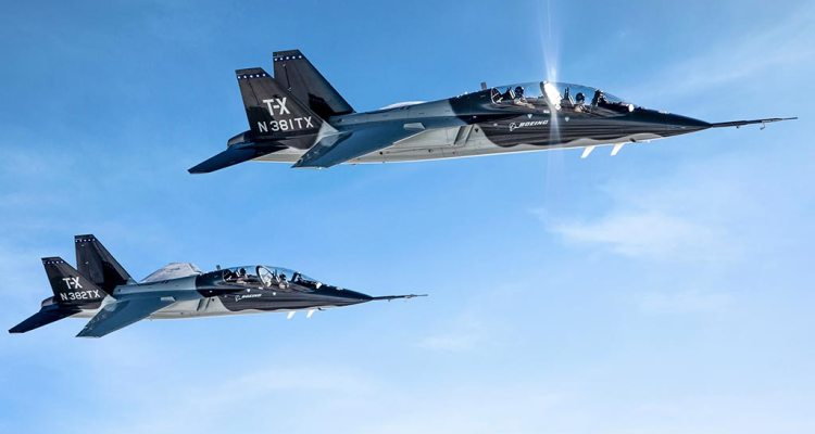Scelto il Boeing T-X per la US Air Force
