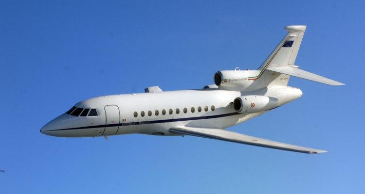Falcon900ex in volo
