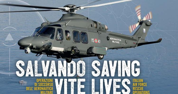Libro Aeronautica Militare soccorso SAR Salvando Vite di Dino Marcellino